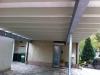Carport mit Stahlträger
